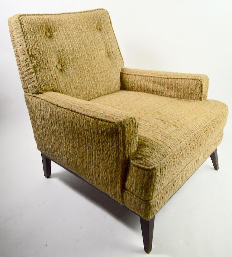 Mid Century  Club Lounge Chair after McCobb as is In Fair Condition For Sale In New York, NY