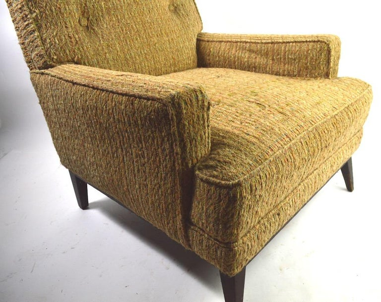 20th Century Mid Century  Club Lounge Chair after McCobb as is For Sale