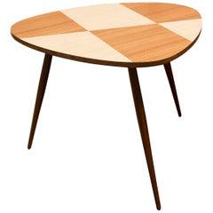 Midcentury Coffee Side Table, 1960s, Czechoslovakia