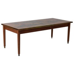 Midcentury Coffee Table by Dubè for Fontana Arte, Italy