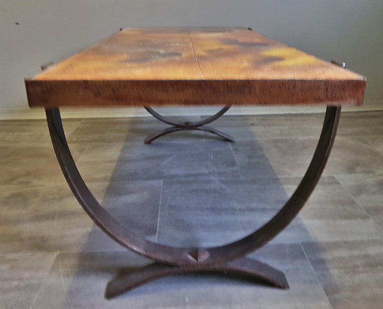 Mid-20th Century Midcentury Coffee Table by Georges Tardieu, Vallauris, France, 1960s For Sale