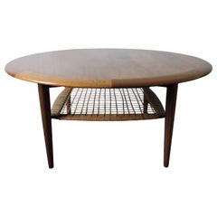 Midcentury Coffee Table by Johannes Andersen for CFC Silkeborg, 1960s