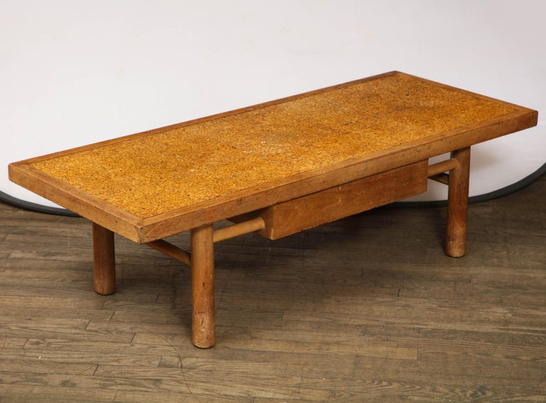 Wood Midcentury Coffee Table For Sale