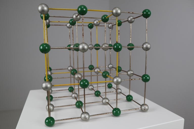 Czech Mid-Century Colorful Molecular Atomic Model from a School in Prague For Sale