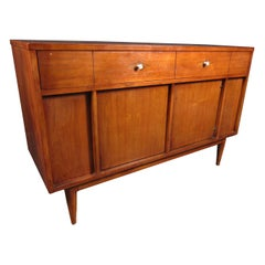 Midcentury Compact Server or Credenza