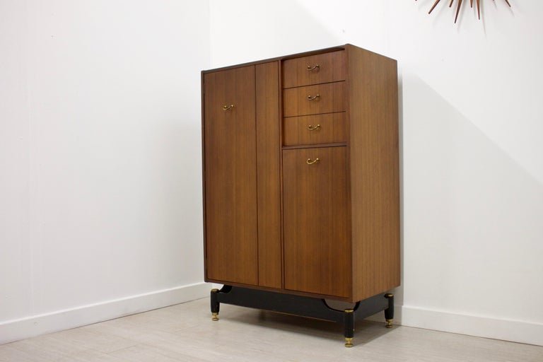 Mid-Century Modern Midcentury Compact Tallboy Wardrobe from G-Plan, 1960s For Sale