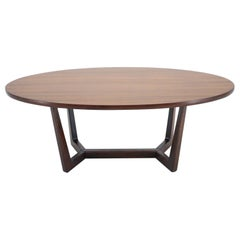 Midcentury Conference Table by Dřevotvar, 1960s