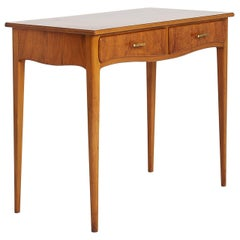 Midcentury Console or Small Desk by Gärsnäs Mobler