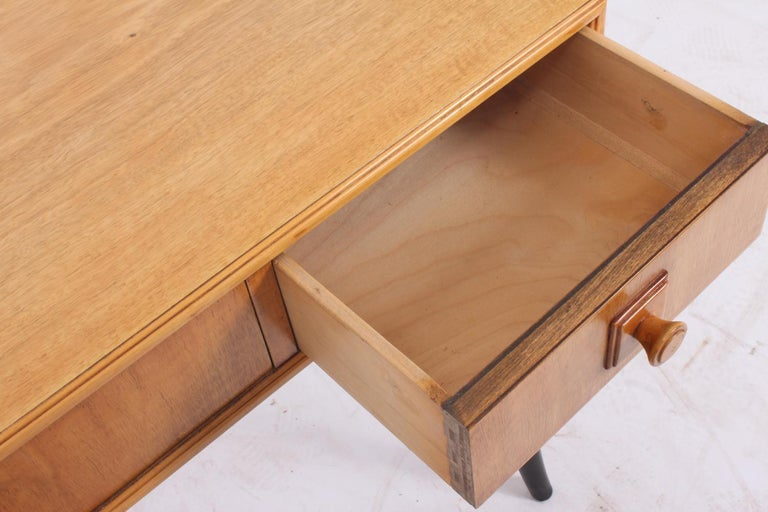 British Midcentury Console Table, circa 1960 For Sale