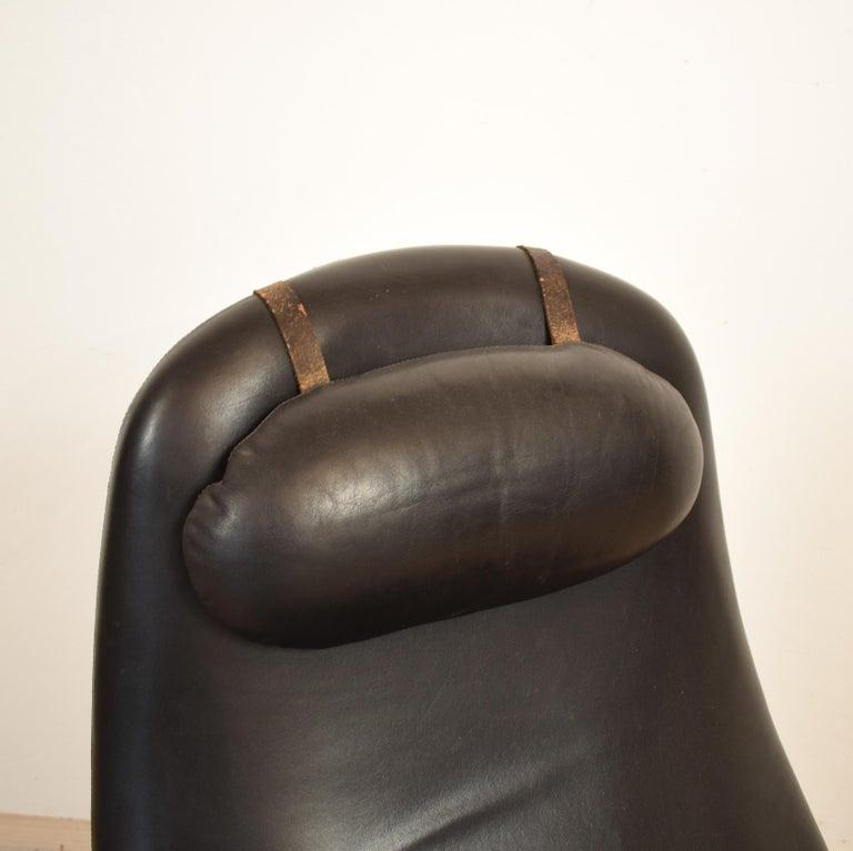 Midcentury Contourette Roto Armchair by Alf Svensson for DUX, 1960 For Sale 2