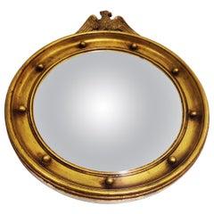 Midcentury Convex Eagle Mirror