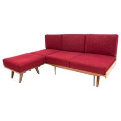 Midcentury Corner Folding Sofa by František Jirák for Tatra Nábytok, 1960s, CZ