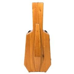 Midcentury Cubist Style Cello Case