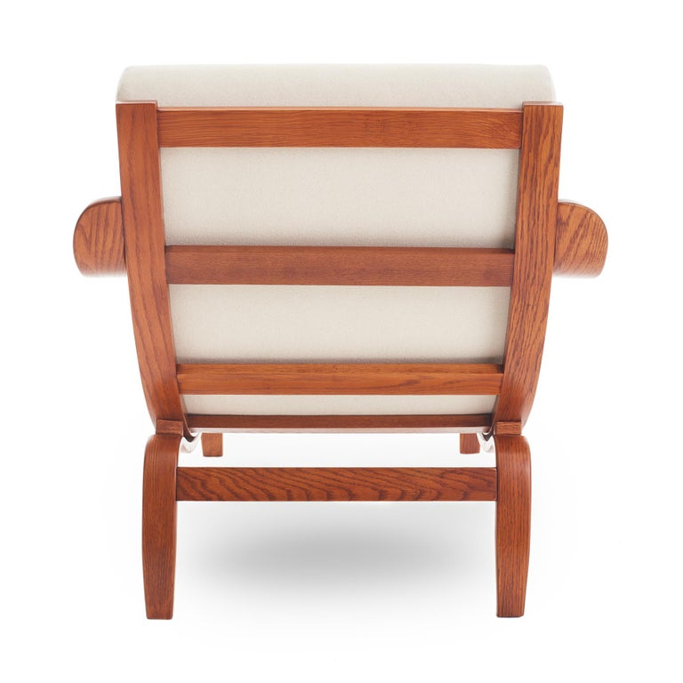 Mid-20th Century Midcentury Danish Bentwood Lounge Chair For Sale