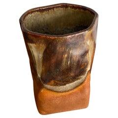 Mid-Century Danish Ceramic Vase for Axella