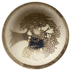 Mid-Century Danish Decorative Ceramic Bowl