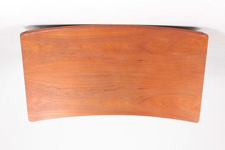 Midcentury Danish Design Desk in Teak by Svend Aage Madsen, 1950s For Sale 6