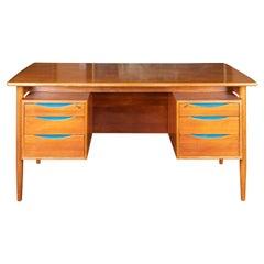 Mid-Century Danish Desk in Walnut