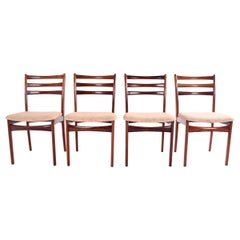 Mid Century Danish Dining Chairs by Skovby, 1950s, Set of 4