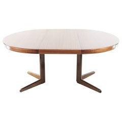 Midcentury Danish Dining Table by Henry W Klein for Bramin, 1960s