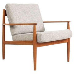 Midcentury Danish Easy Chair in Teak by Grete Jalk for France & Søn