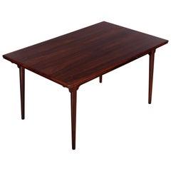 Midcentury Danish Gunni Omann Extendable Model 54 Dining Table for Omann Jun
