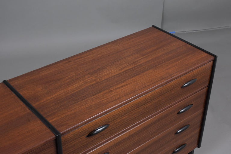 Mid-Century Danish Modern Chest of Drawers For Sale 3