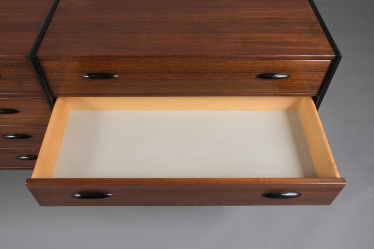 Mid-20th Century Mid-Century Danish Modern Chest of Drawers For Sale