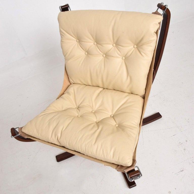 Scandinavian Modern Mid-Century Danish Modern Falcon Chair by Sigurd Ressell for Vatne Møbler