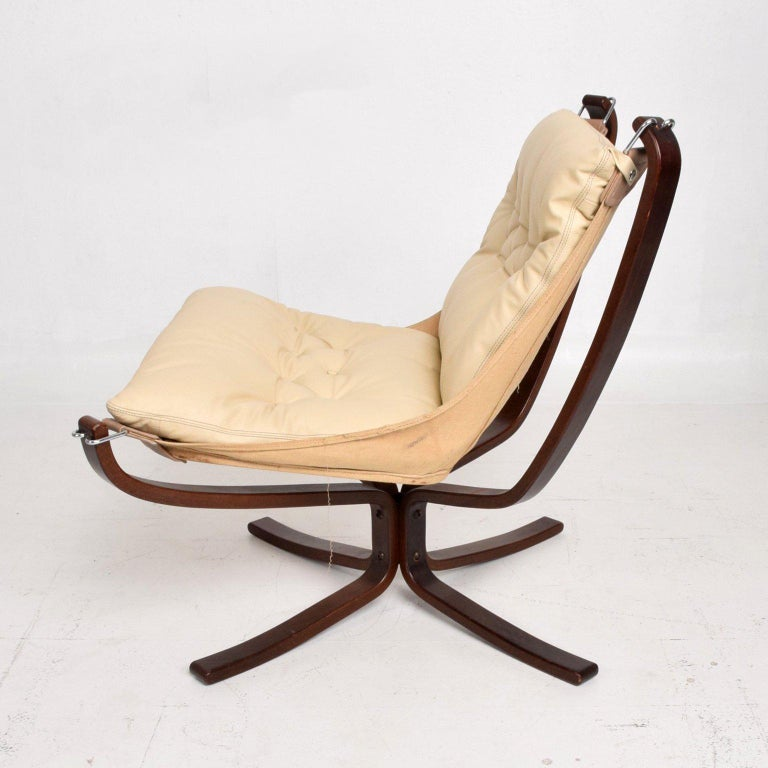 Mid-Century Danish Modern Falcon Chair by Sigurd Ressell for Vatne Møbler In Good Condition In National City, CA
