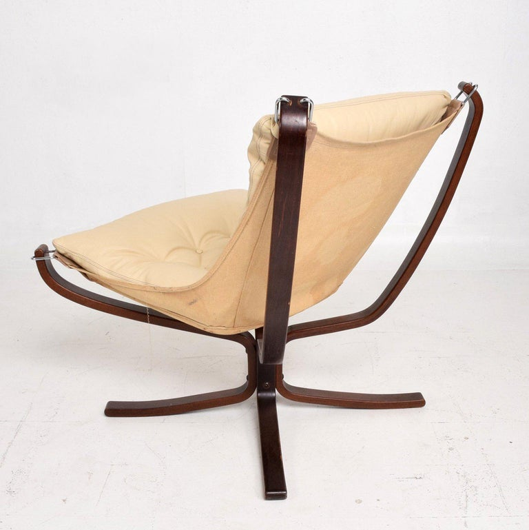 Mid-20th Century Mid-Century Danish Modern Falcon Chair by Sigurd Ressell for Vatne Møbler