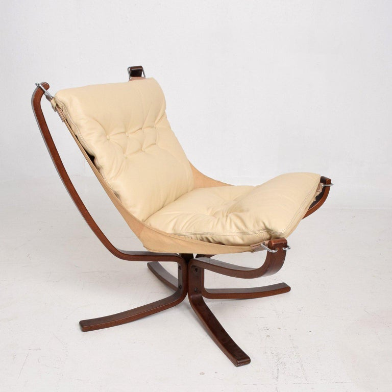 Mid-Century Danish Modern Falcon Chair by Sigurd Ressell for Vatne Møbler 2