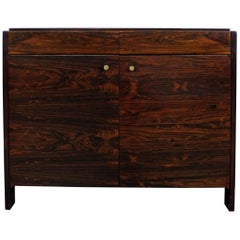 Mid-Century Danish Modern Knoll Rosewood Mini Credenza