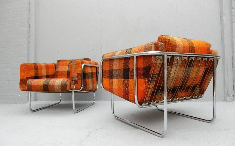 Mid-Century Modern Mid Century Danish Modern Lounge Chairs by Hans Eichenberger For Sale