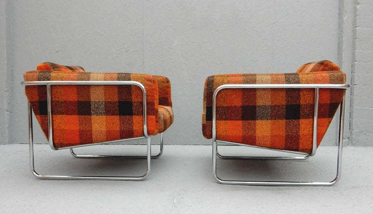 Mid Century Danish Modern Lounge Chairs by Hans Eichenberger In Good Condition For Sale In Las Vegas, NV