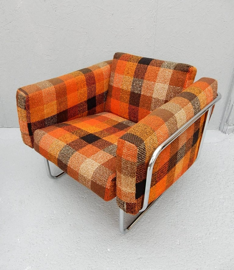 20th Century Mid Century Danish Modern Lounge Chairs by Hans Eichenberger For Sale