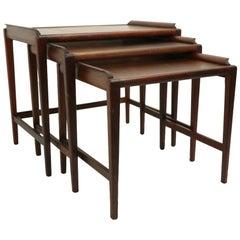 Mid Century  Danish Modern Nest of Tables