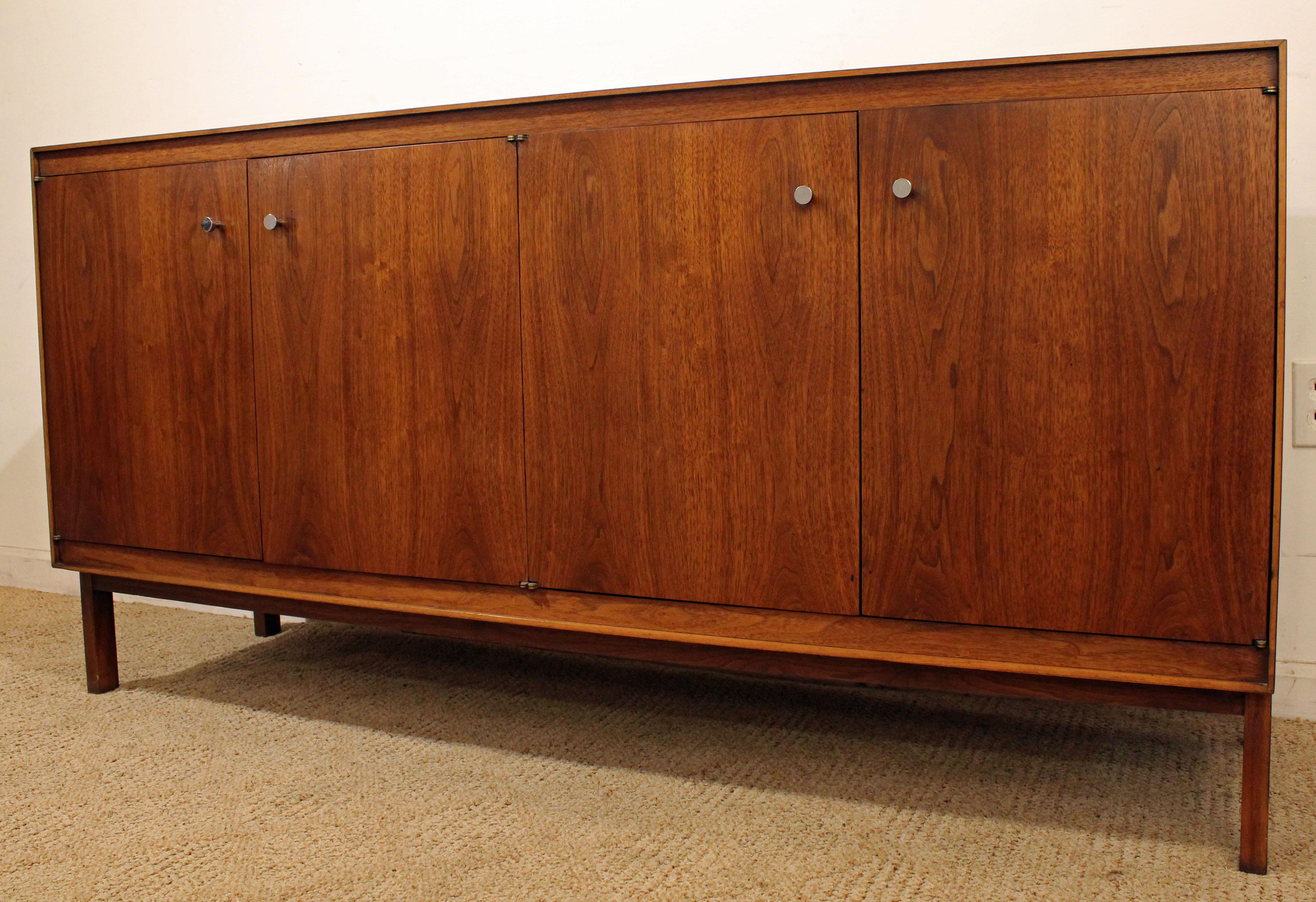 Danish Modern Credenza For Sale : Mid century danish modern paul mccobb components walnut credenza