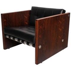 Midcentury Danish Modern Rosewood Club Chair
