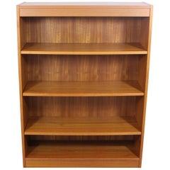 Midcentury Danish Modern Teak Bookshelf