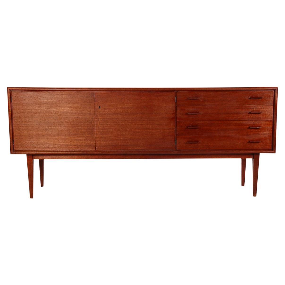 Midcentury Danish Modern Teak Credenza or Cabinet