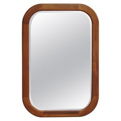 Midcentury Danish Modern Teak Mirror