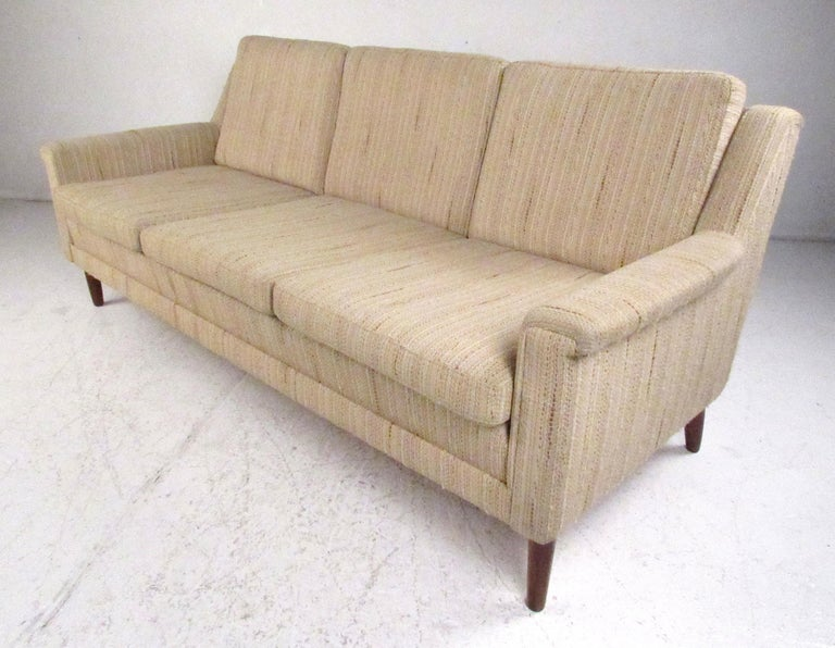 Scandinavian Modern Midcentury Danish Modern Three-Seat Sofa by Dunflex For Sale