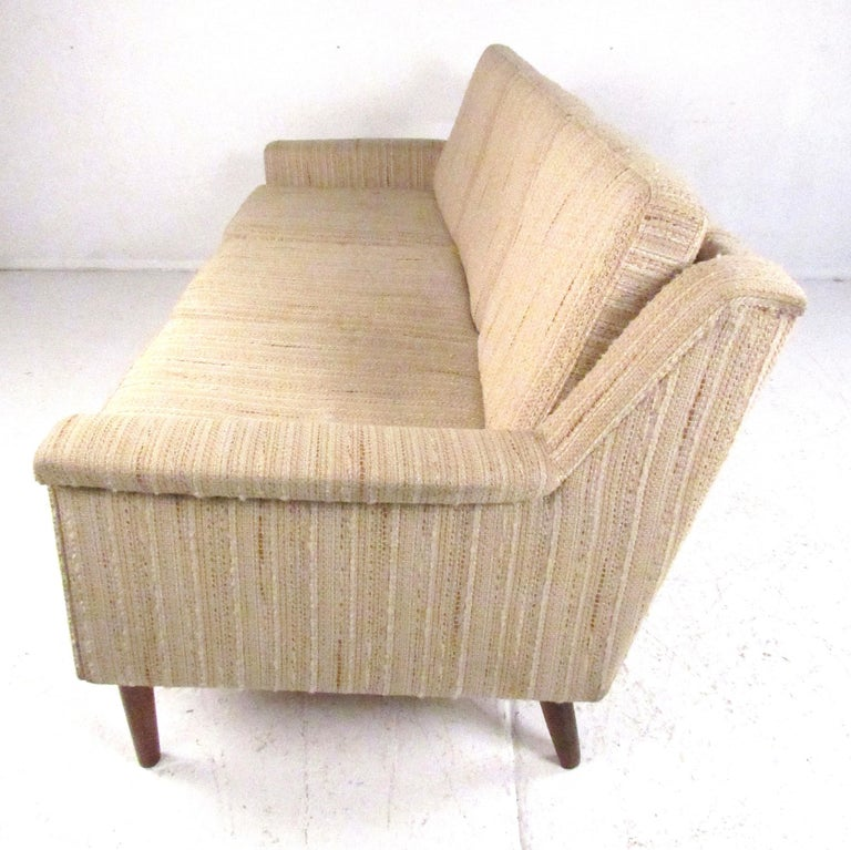 Late 20th Century Midcentury Danish Modern Three-Seat Sofa by Dunflex For Sale