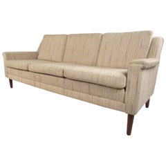 Midcentury Danish Modern Three-Seat Sofa by Dunflex