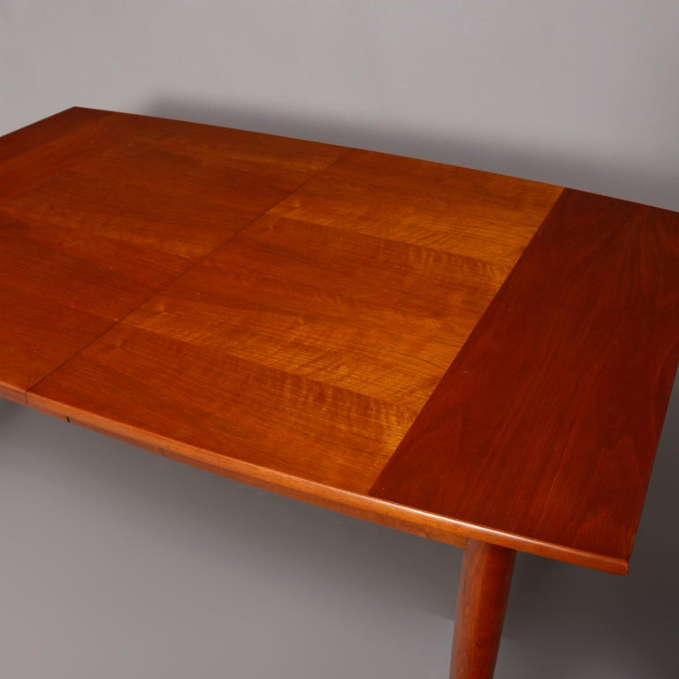 Midcentury Danish Modern Walnut Dining Set by Drexel, 20th Century For Sale 8