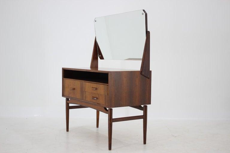 Mid-Century Modern Midcentury Danish Palisander Dressing Table, 1960s For Sale