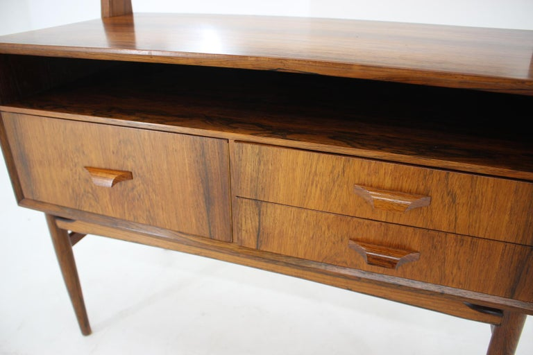 Mid-20th Century Midcentury Danish Palisander Dressing Table, 1960s For Sale