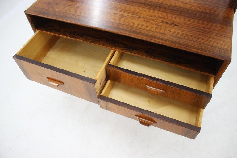 Midcentury Danish Palisander Dressing Table, 1960s For Sale 1