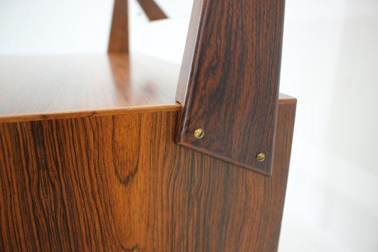 Midcentury Danish Palisander Dressing Table, 1960s For Sale 3